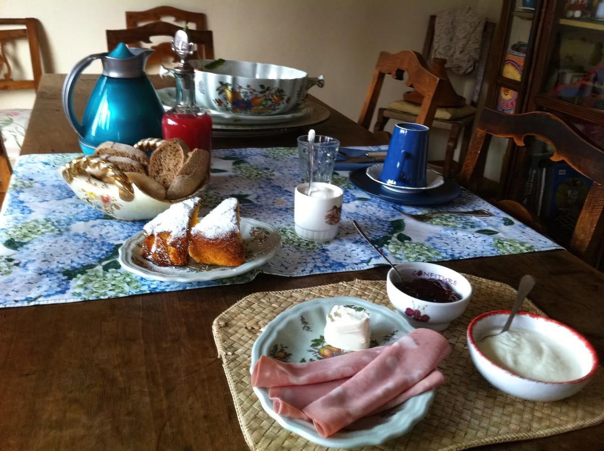 La colazione di B&B LE ORTENSIE