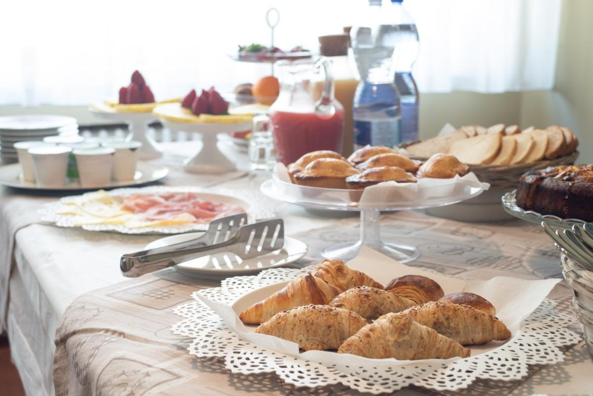 La colazione di VILLA DOMUS SALENTO SUITE & ROOMS
