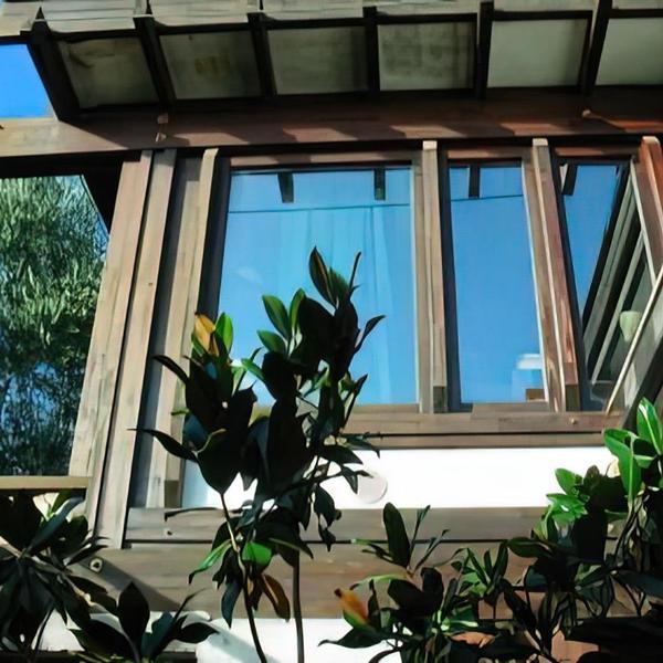 la casa di vetro