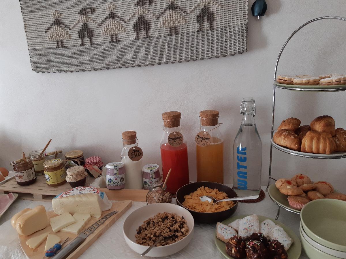 La colazione di LE STANZE DI PATIKA