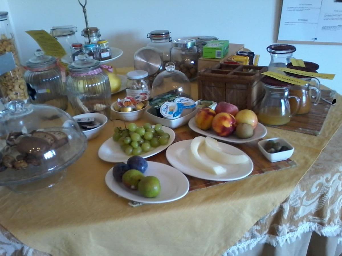 La colazione di VILLA PEDACI B&B