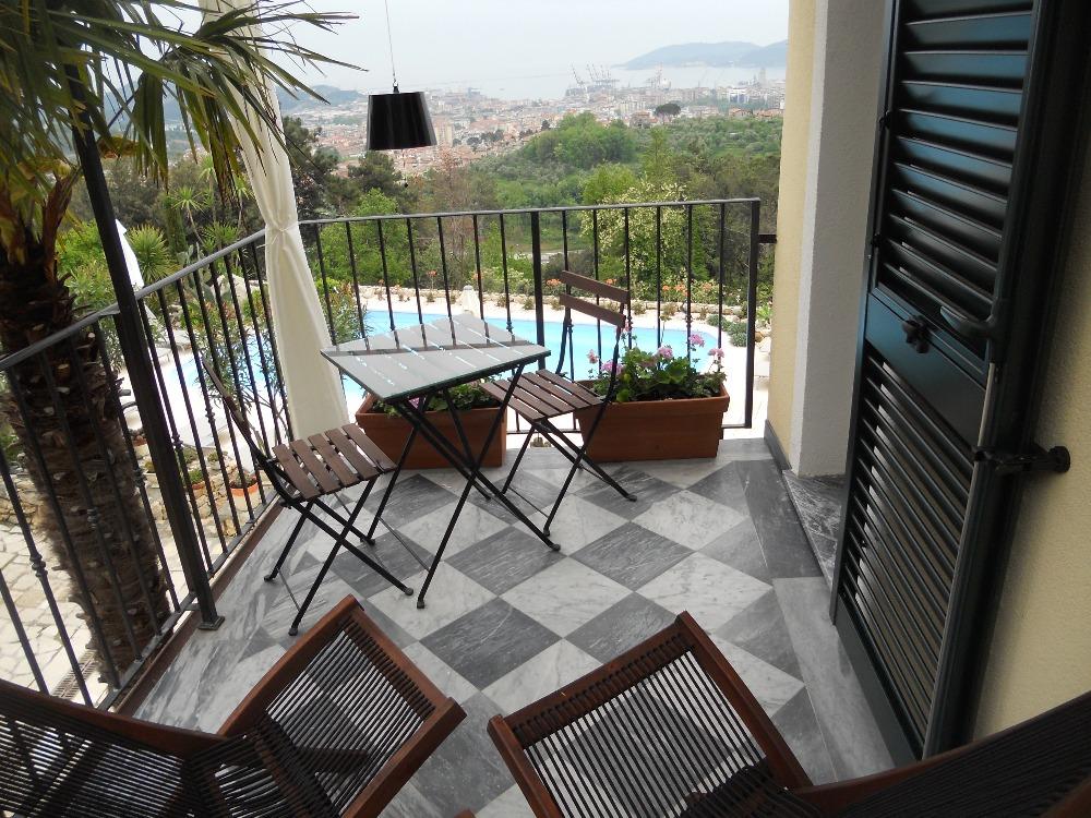 Doppia/tripla terrazza vista 3