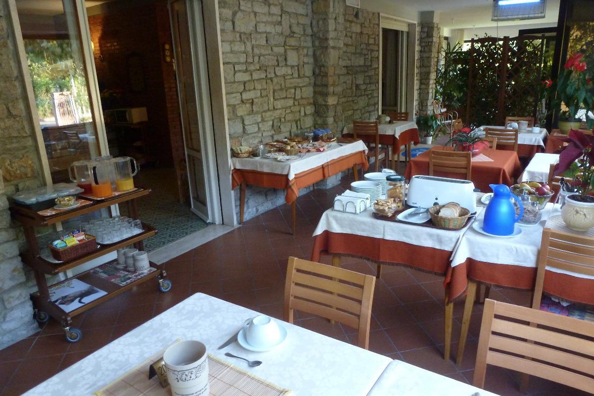 La colazione di HOTEL VERSILIA