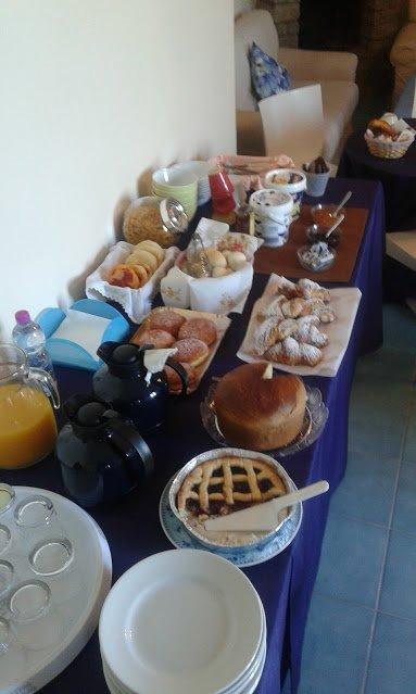 La colazione di VILLA FLORA