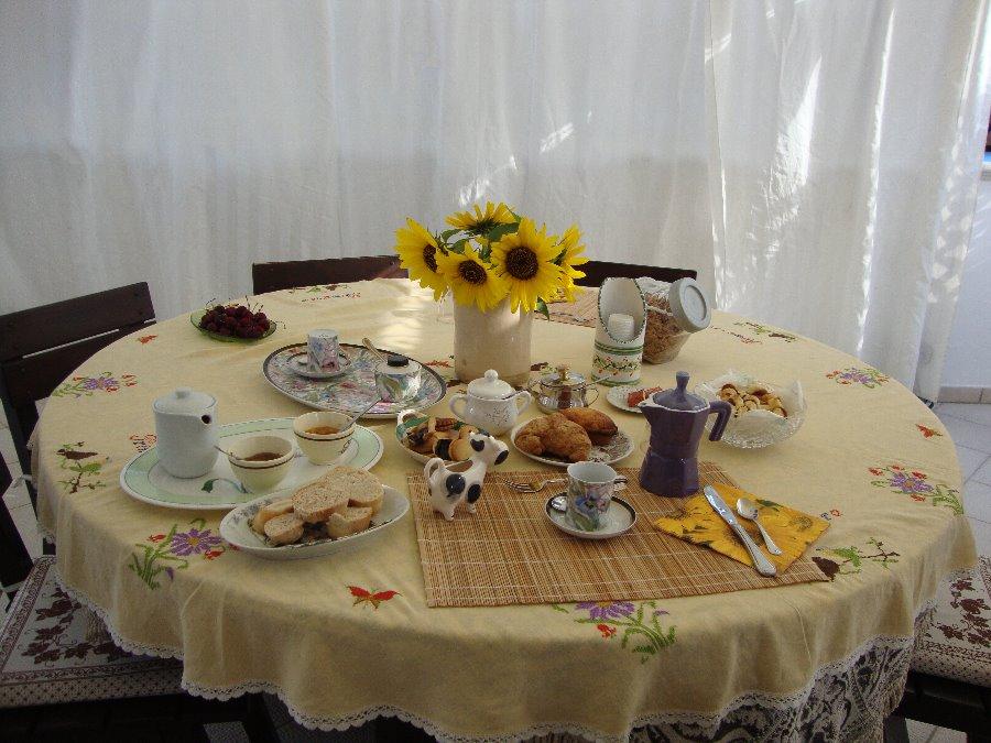La colazione di VILLA DEL CASALE