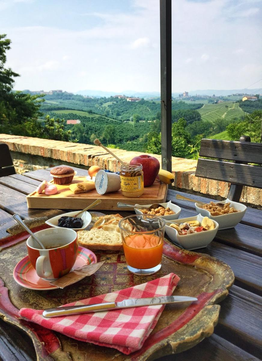 La colazione di CASCINA BARESANE