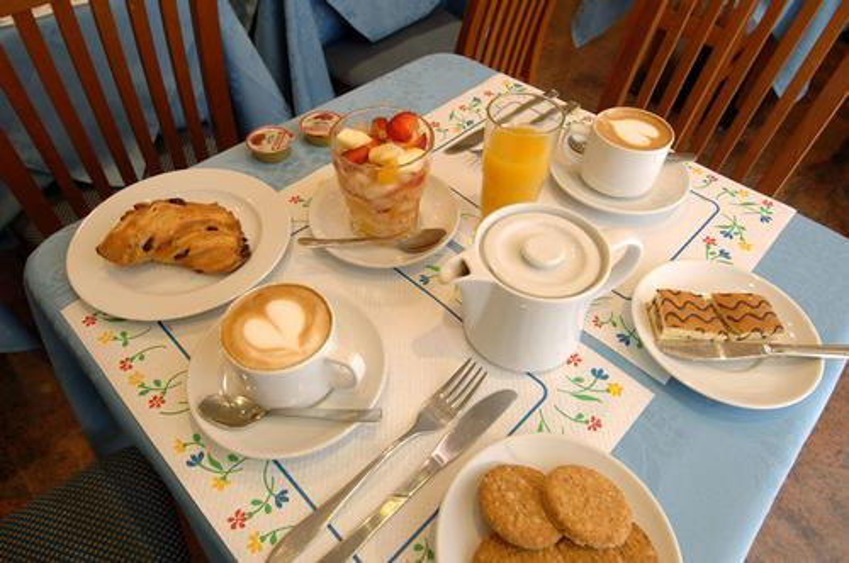 La colazione di HOTEL BERNINA