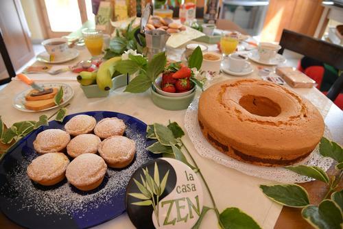 La colazione di LA CASA ZEN