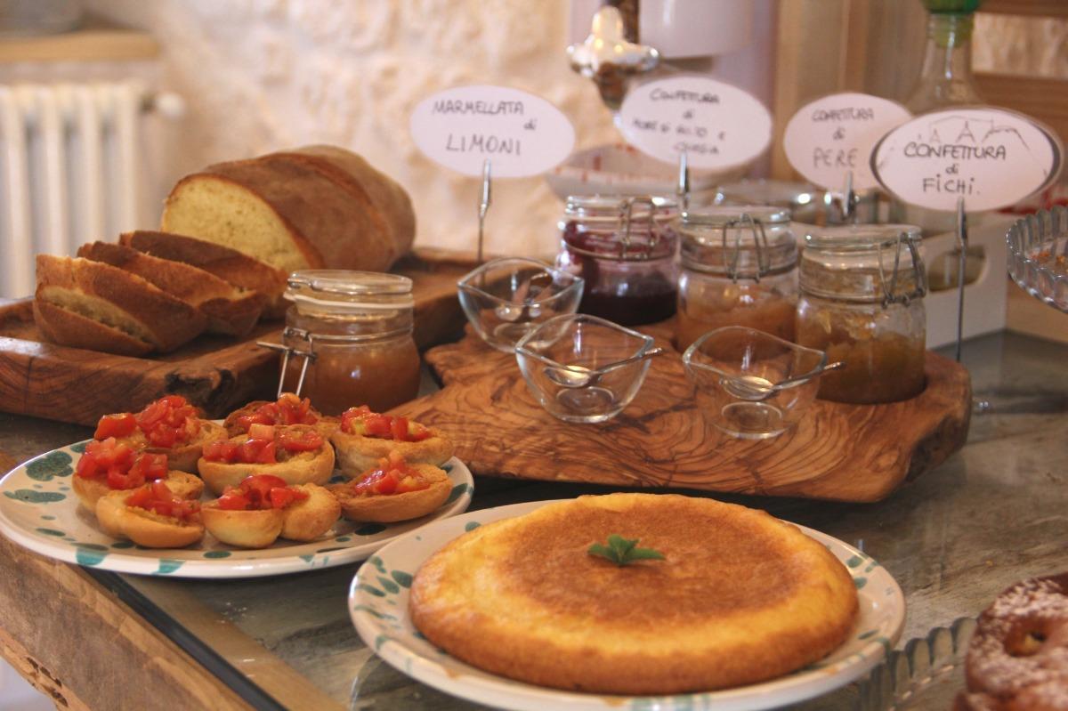 La colazione di MASSERIA TRULLI SULL'AIA