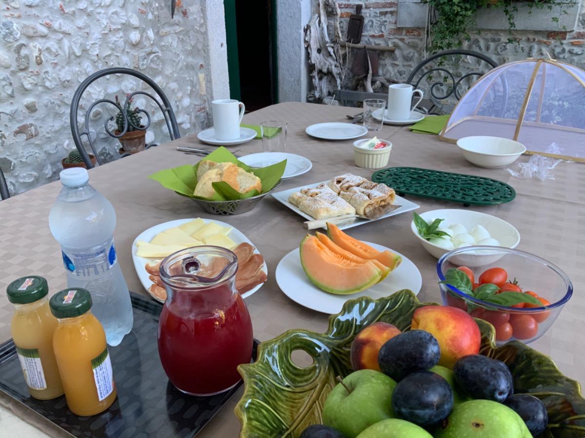 La colazione di CASA BARNABA-MANIN