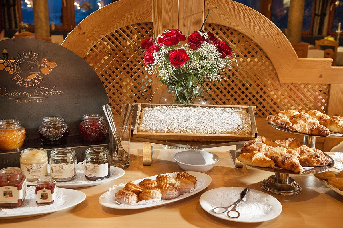 La colazione di HOTEL ORSO