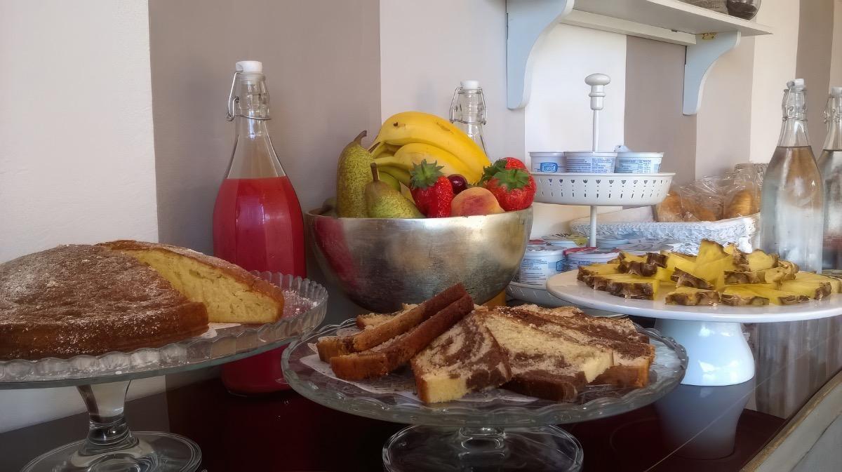 La colazione di B&B DA BETTA