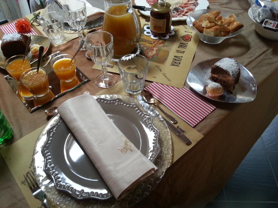 La colazione di LA LUNA NEL BORGO
