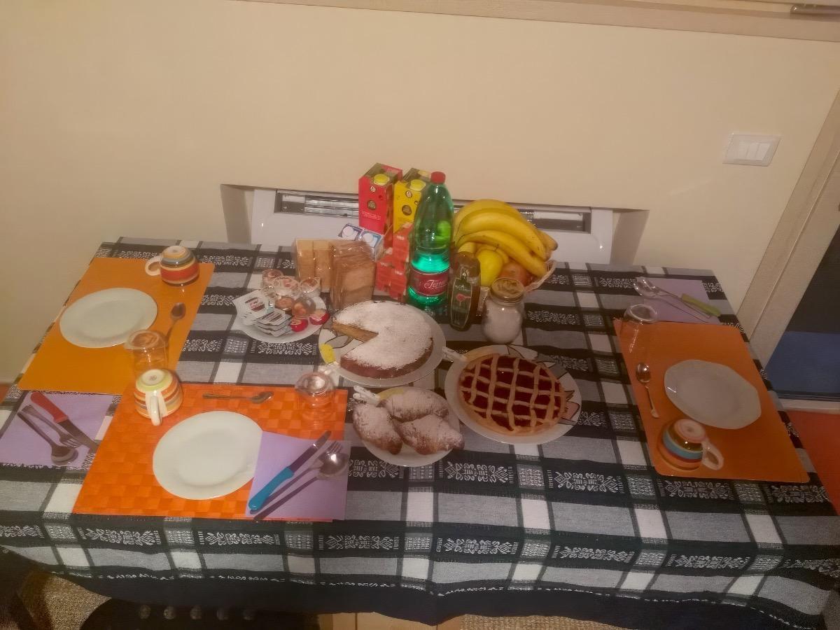 La colazione di B&B SANT'ANNA