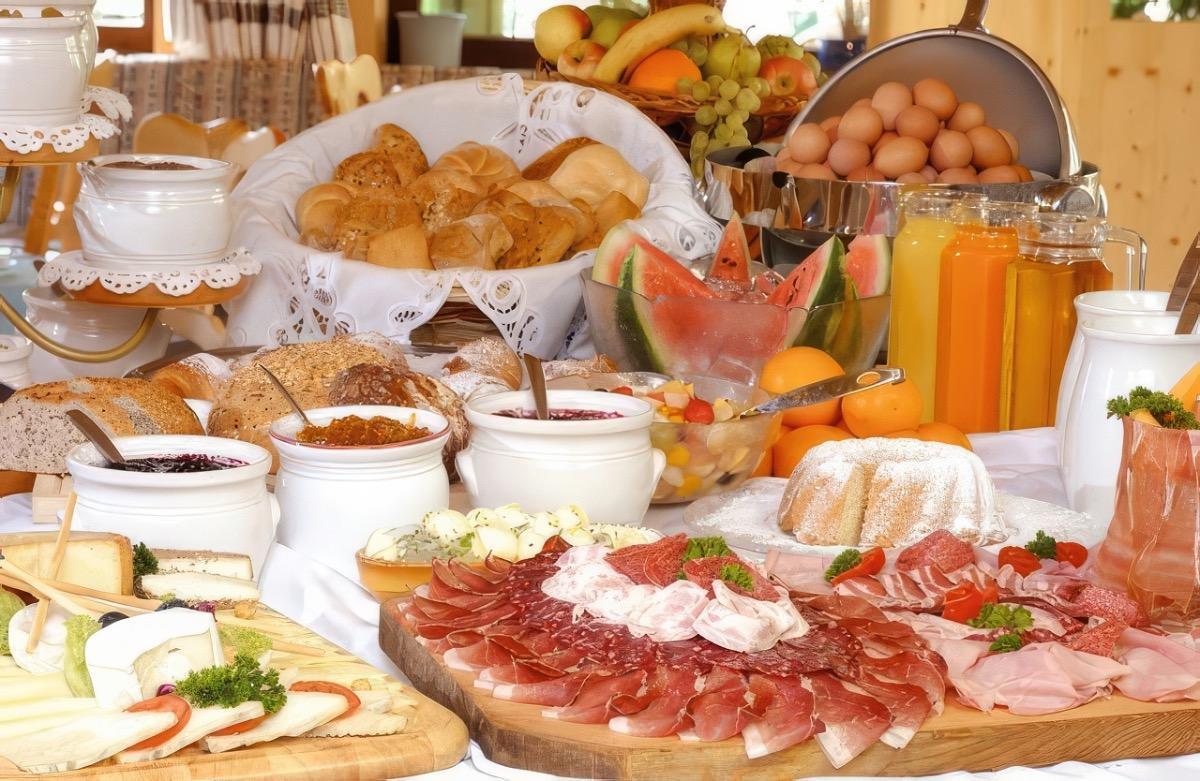 La colazione di CINQUETERRE TRA IL FILO DI ARIANNA