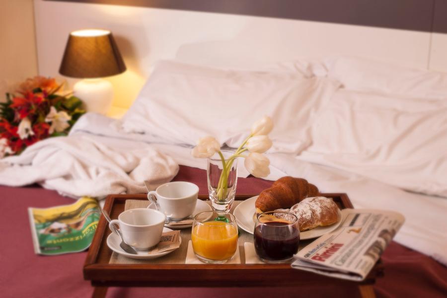 La colazione di HOTEL RISTORANTE LOCANDA ROSY **