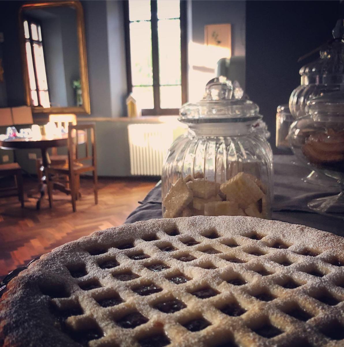 La colazione di ANTICO B&B PODERE MERLO