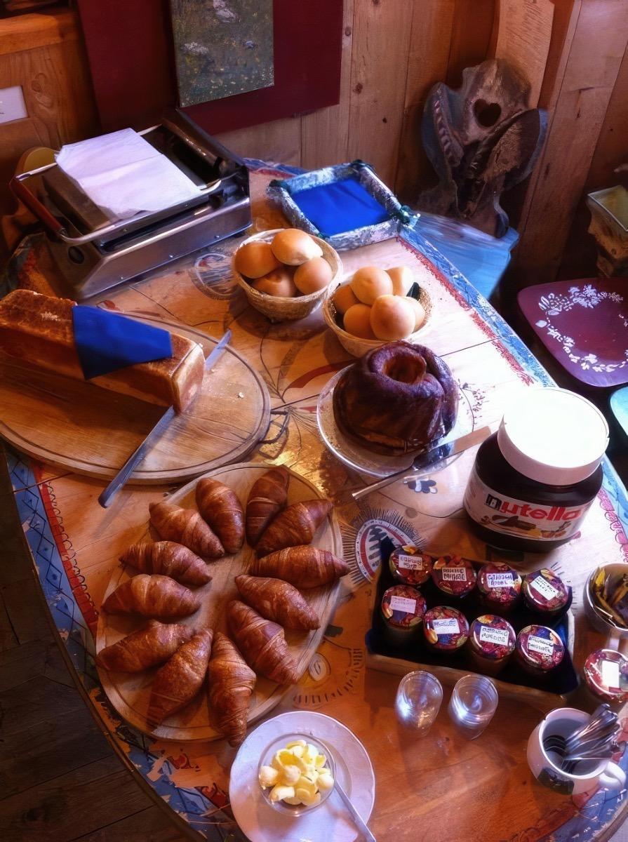 La colazione di LE CASE DI OBERRICHTER