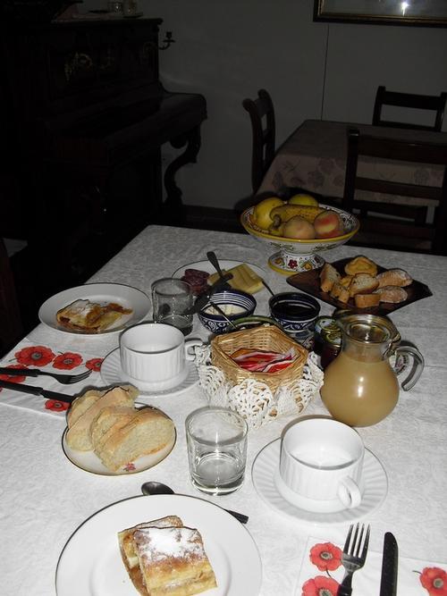 La colazione di B&B SAN MARCO