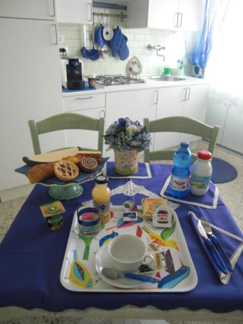 La colazione di BIJOUX DI PENELOPE B&B
