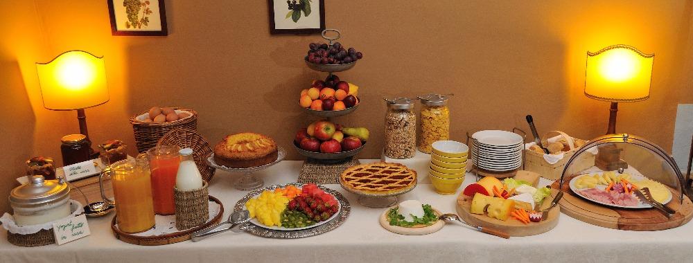 La colazione di AGRITURISMO LA GHIRLANDA