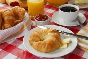 La colazione di B&B IL MELOGRANO