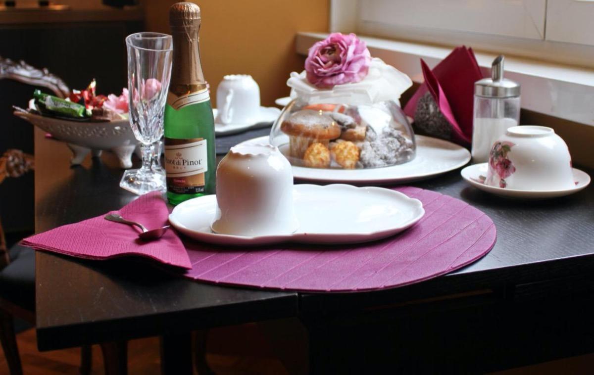 La colazione di SUITE CASA PARIOLINA