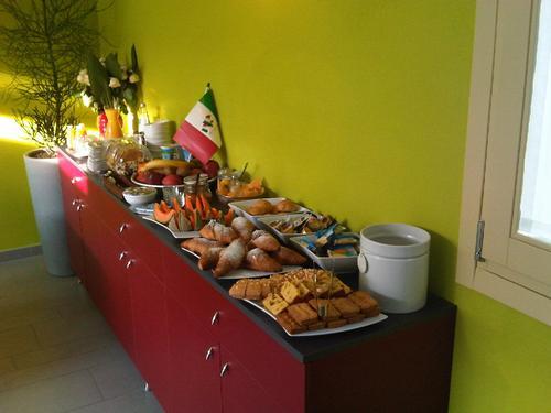 La colazione di 6 PORTE GUESTHOUSE