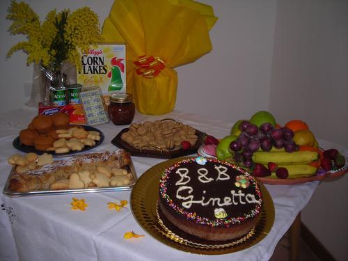 La colazione di B&B GINETTA