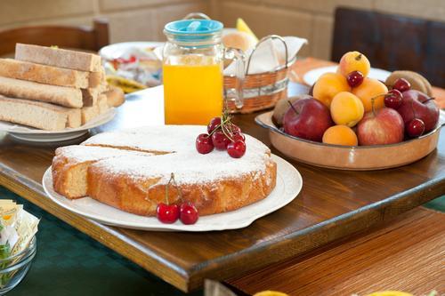 La colazione di B&B SANTA VENARDIA
