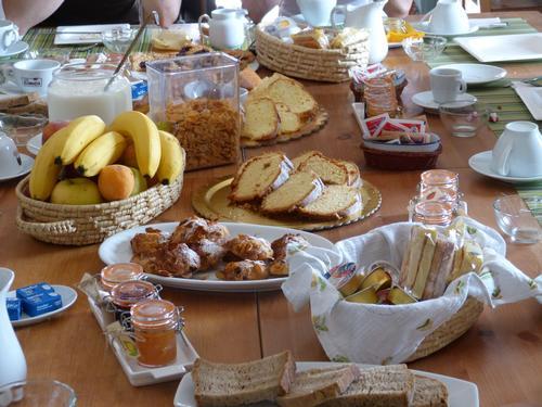 La colazione di LA LOCANDA COUNTRY HOUSE