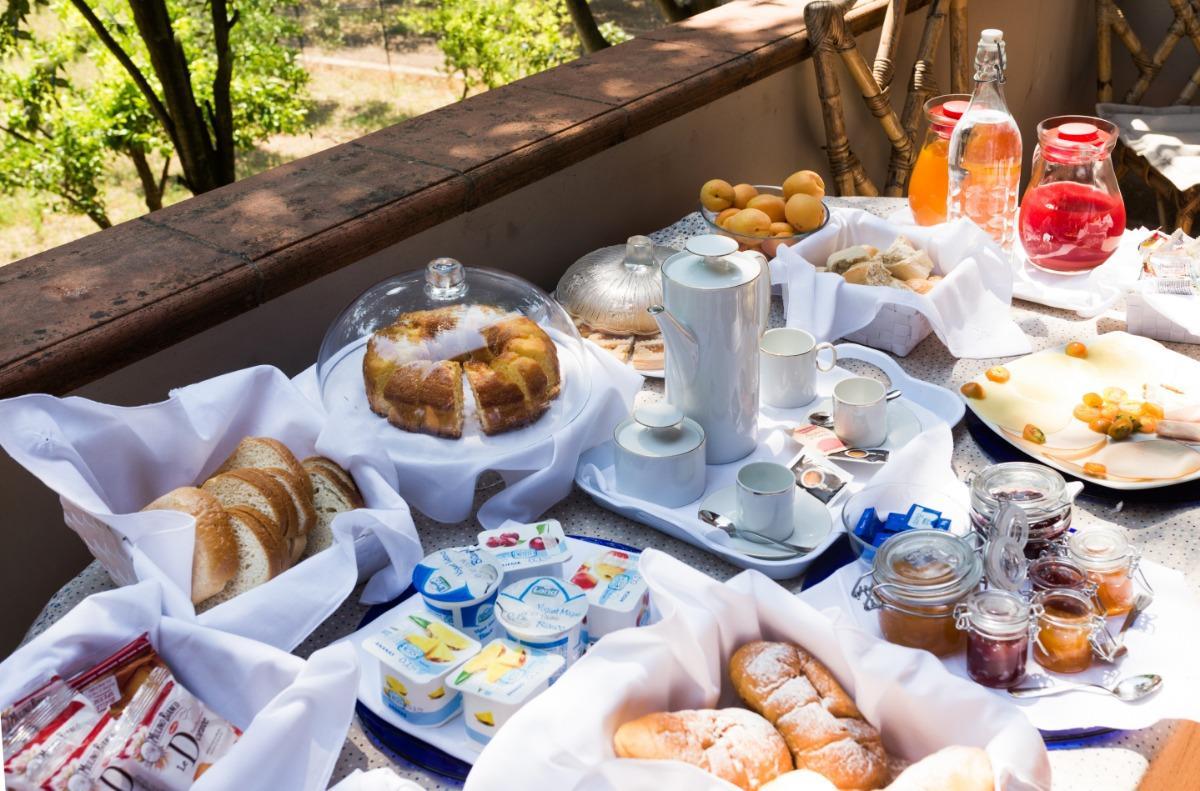 La colazione di MASSERIA DELLA CASA