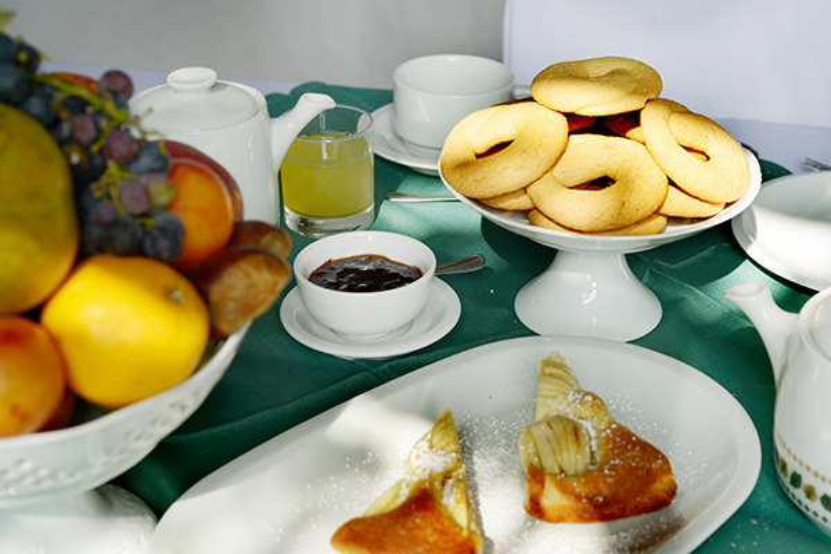 La colazione di LA CA' VECCHIA