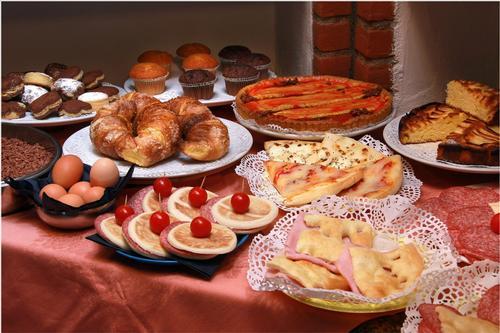 La colazione di VILLA SASSI AC