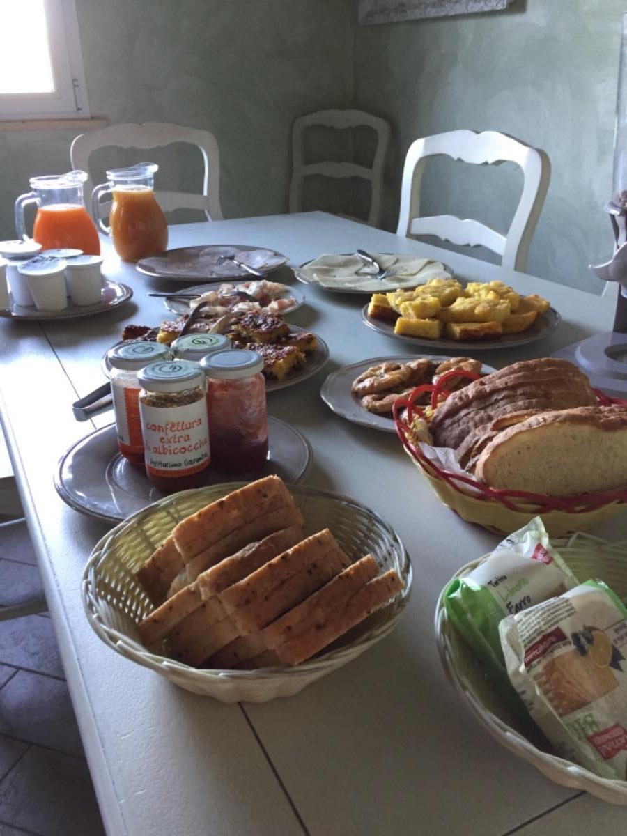 La colazione di AGRITURISMO GARUMBA