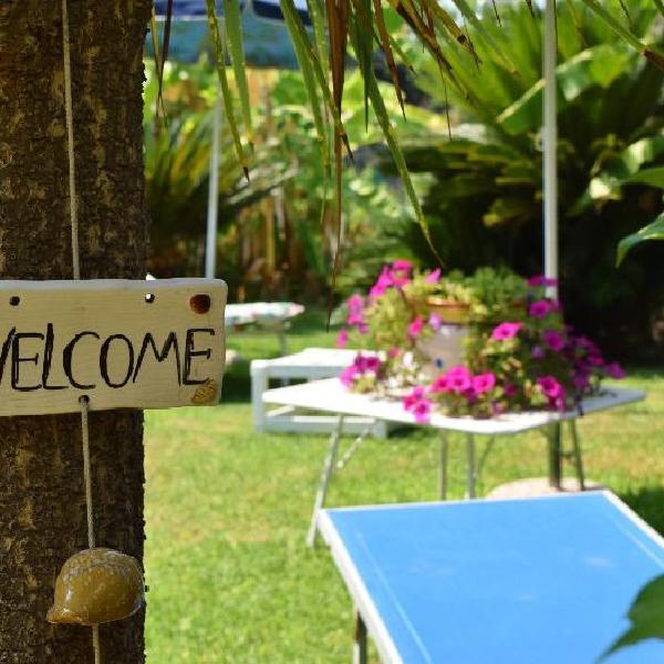 miniappartamento in villa con giardino