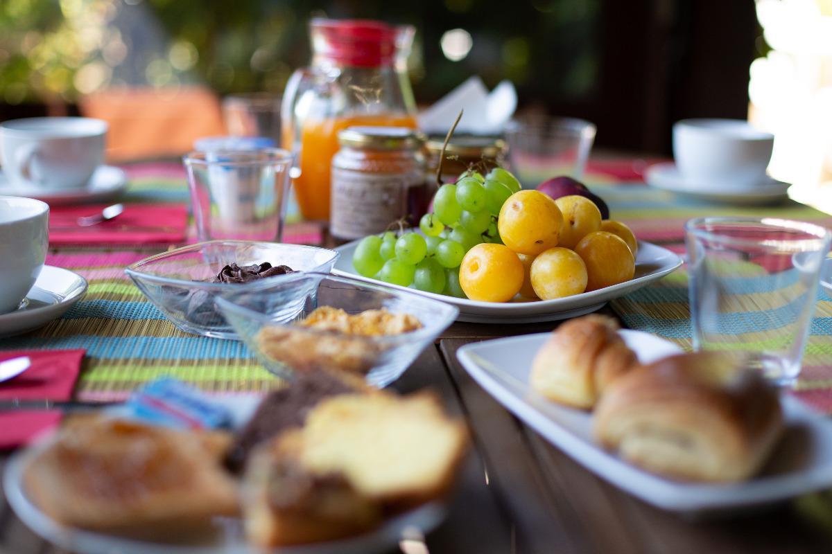 La colazione di VILLA SABRINA COUNTRY HOUSE