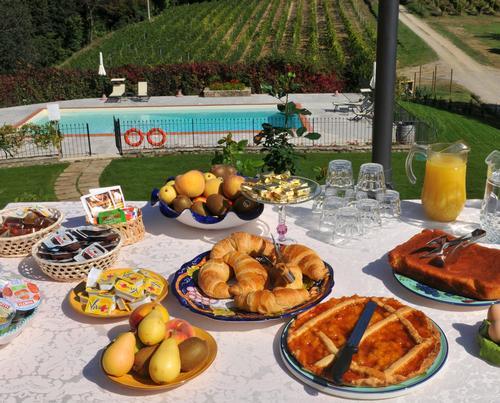 La colazione di AGRITURISMO LA LUCCIOLAIA