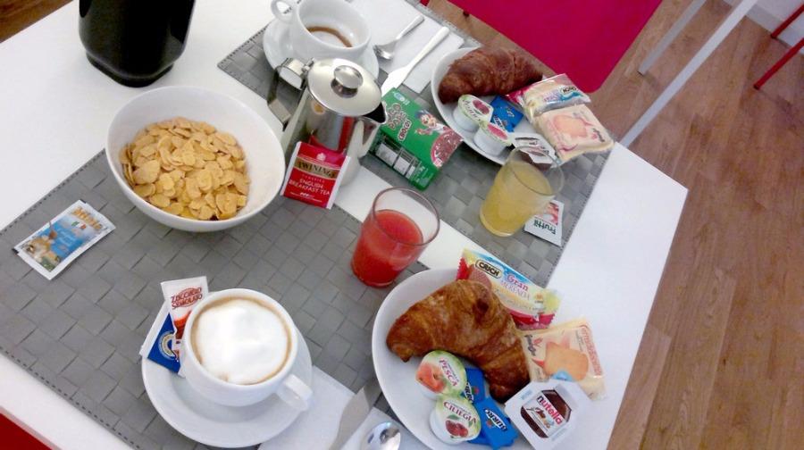 La colazione di MAGNOLIA ROOM & BREAKFAST