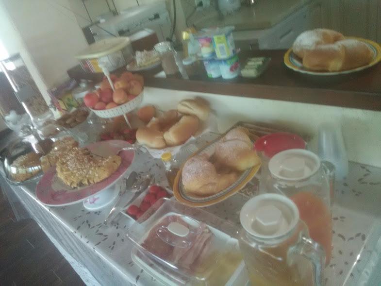 La colazione di B&B RESIDENZA LA FORMICHINA