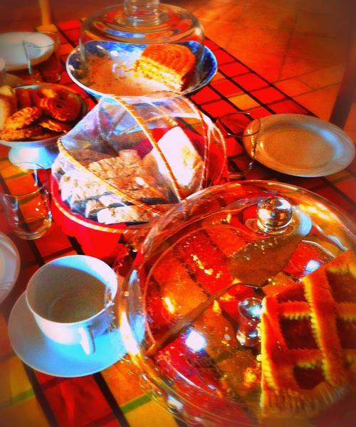La colazione di B&B IL PASSATEMPO DI ENRICA