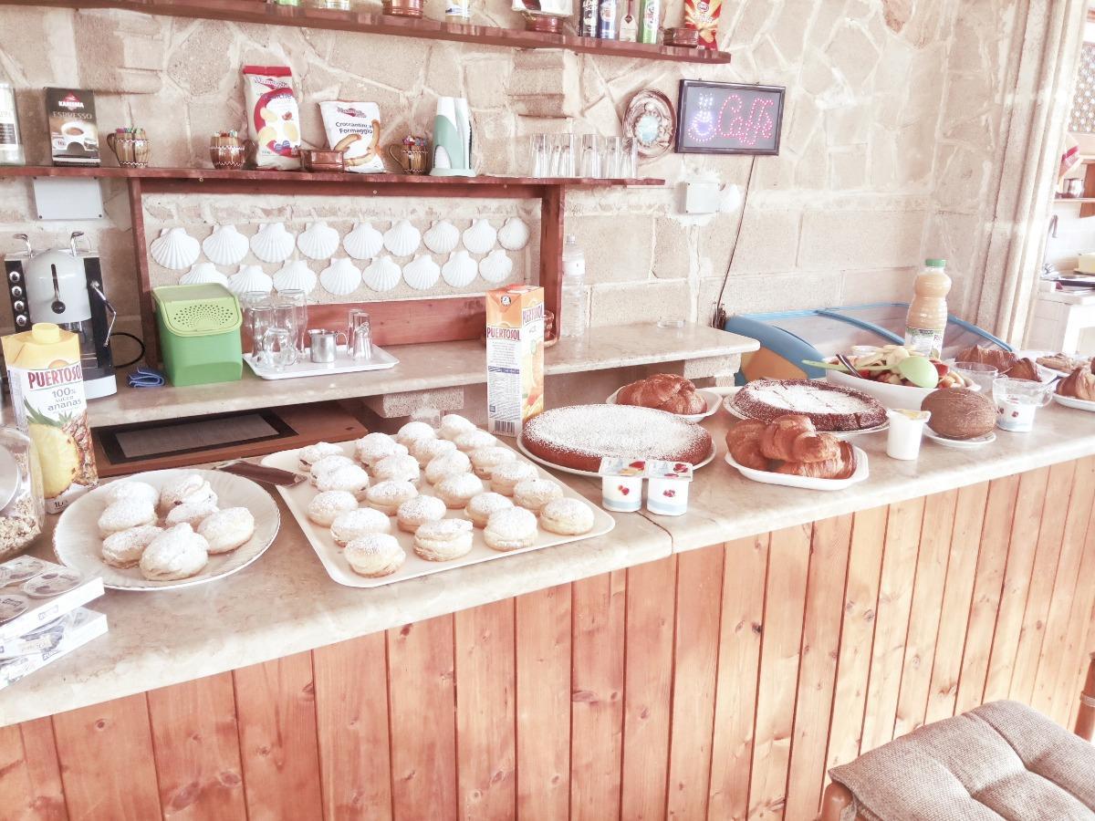 La colazione di ALLOGGIO IN VILLA CRISTINA
