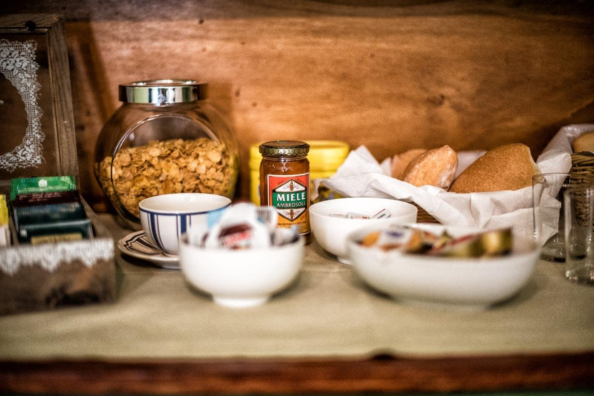 La colazione di B&B ANTICA MAISON