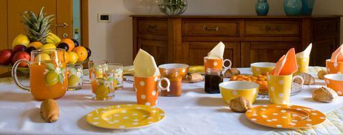 La colazione di GIARDINO IN CITTÀ