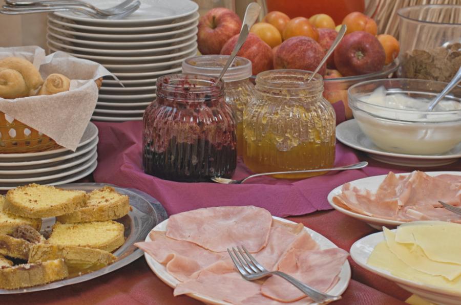 La colazione di HOTEL MASSIMO