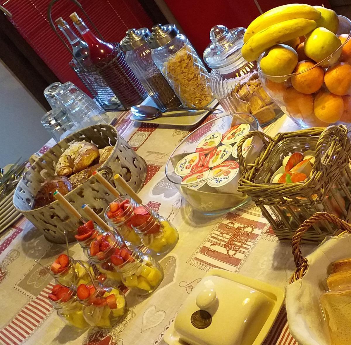 La colazione di B&B LE CHAT NOIR