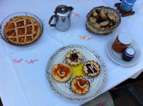 La colazione di POGGIO TAFURI
