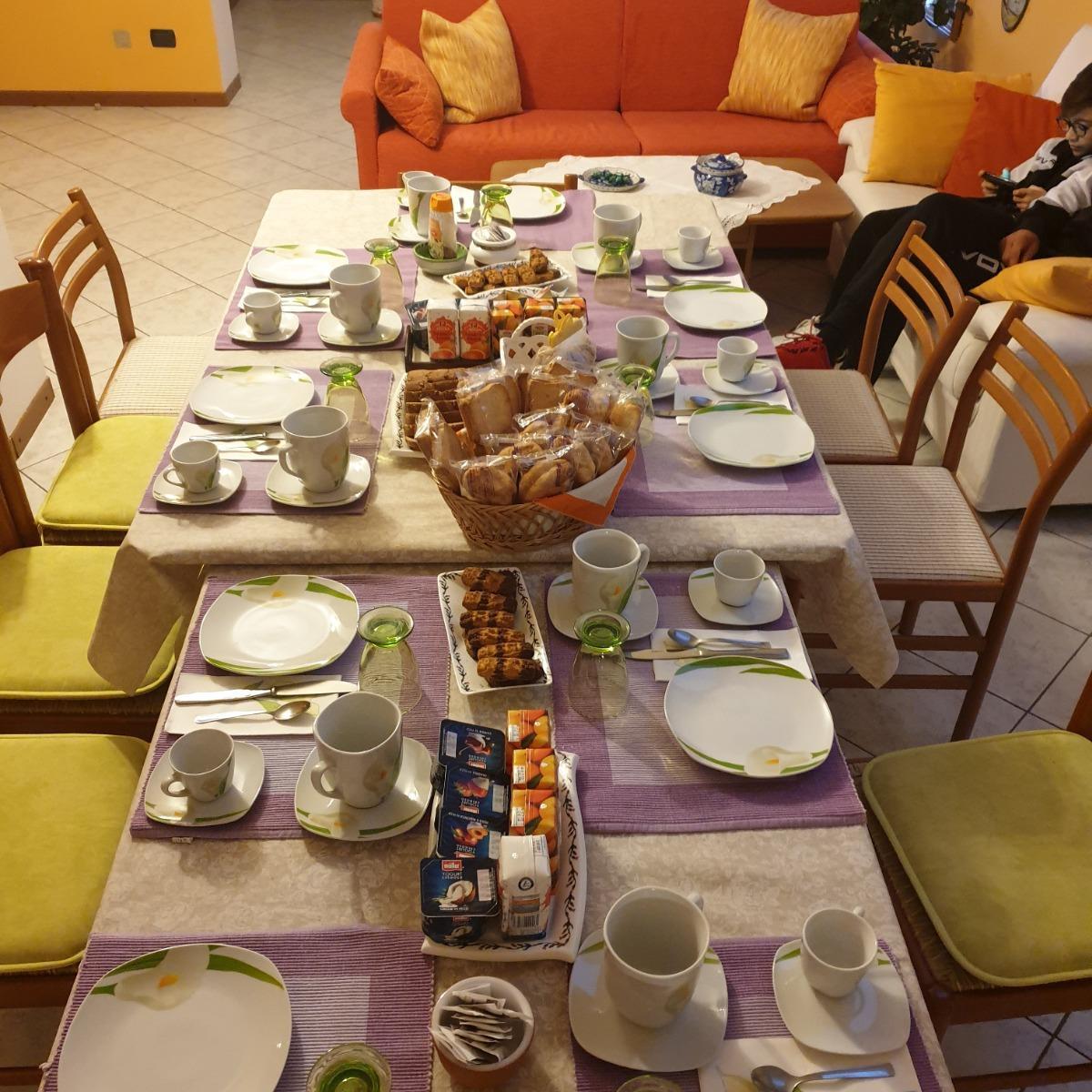 La colazione di LA CASA DI AGNES B&B