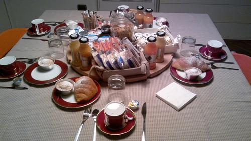 La colazione di B&B SANTO STEFANO