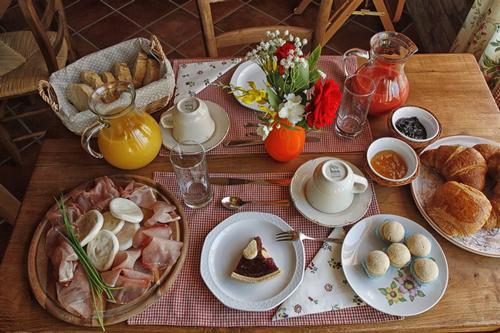 La colazione di LA LIGNENGA B&B